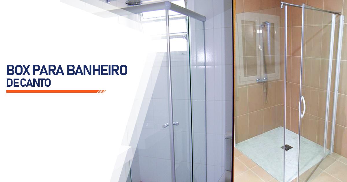 Box de Canto para Banheiro  São Vicente
