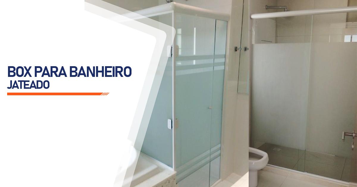 Box Jateado para Banheiro Bertioga