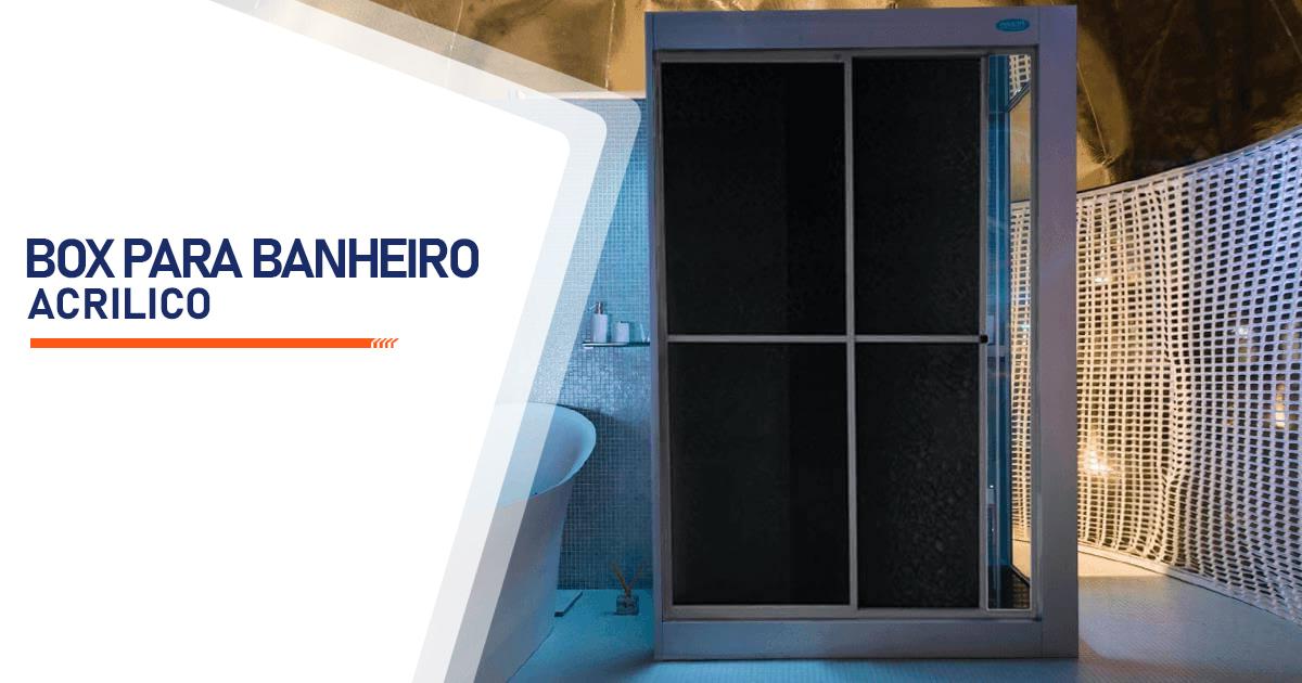 Box para Banheiro Acrílico São Vicente