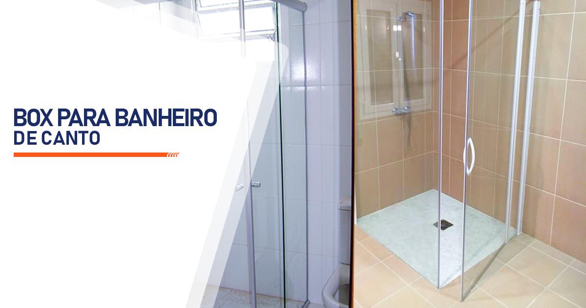 Box para Banheiro de Canto São Vicente