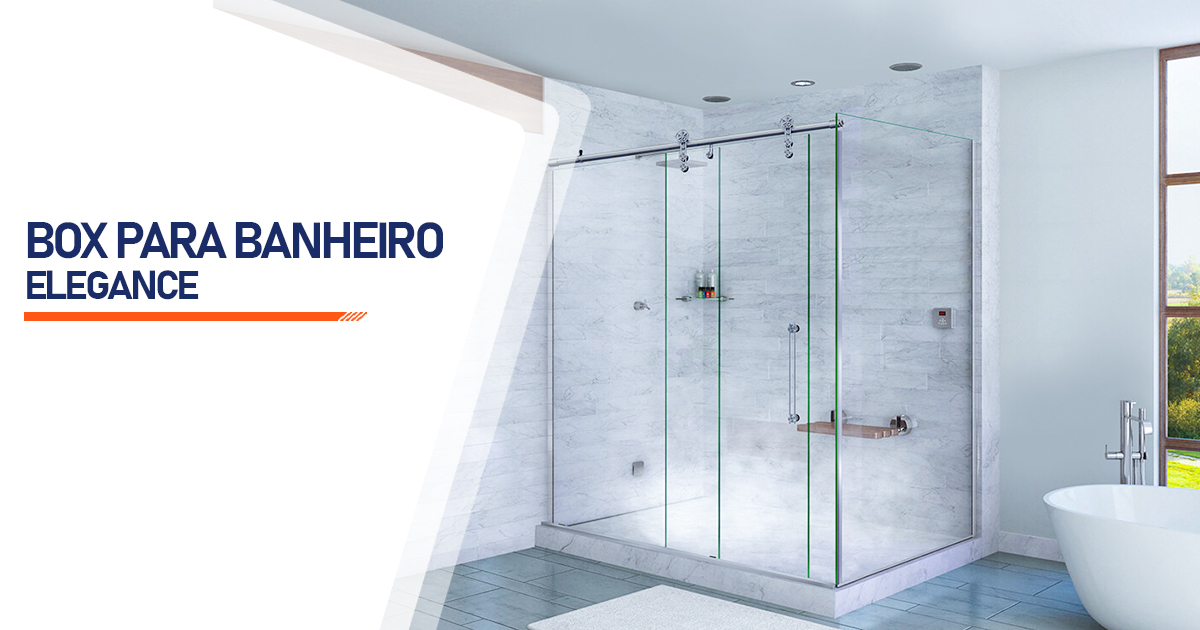 Box para Banheiro Elegance  São Vicente