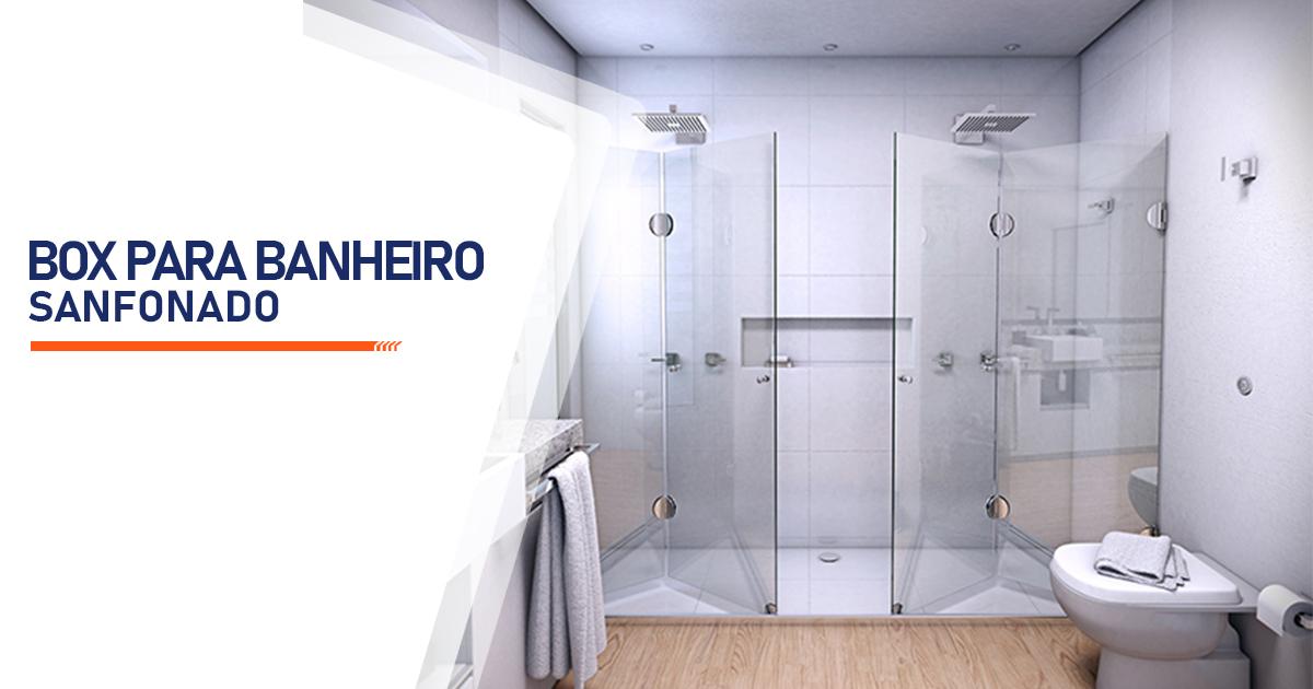 Box para Banheiro Sanfonado São Vicente