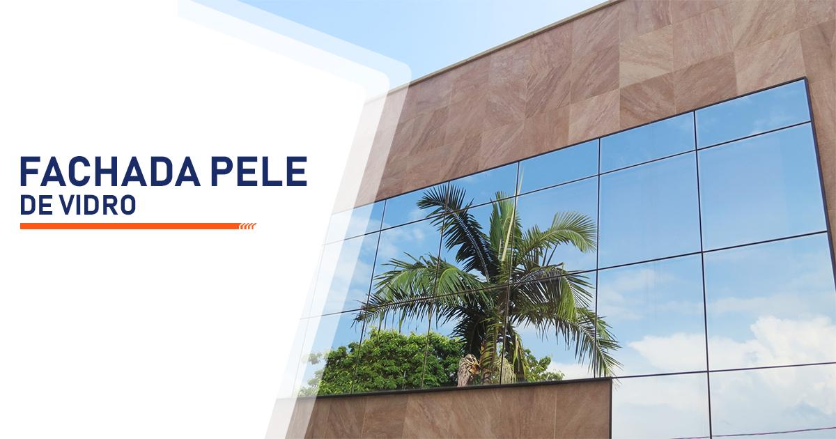 Fachada Pele de Vidro Santos