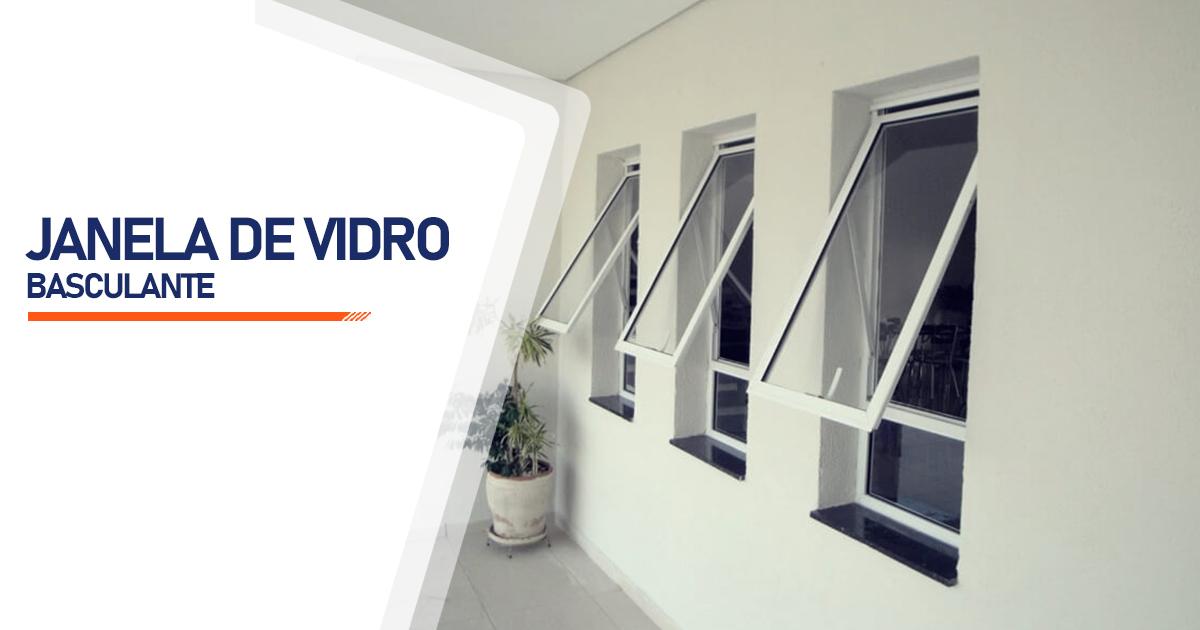 Janela De Vidro Basculante São Vicente