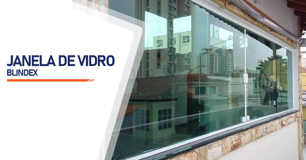 Janela De Vidro Blindex São Vicente