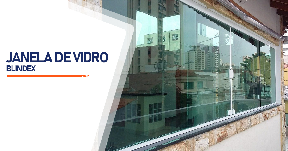 Janela De Vidro Blindex Mongaguá