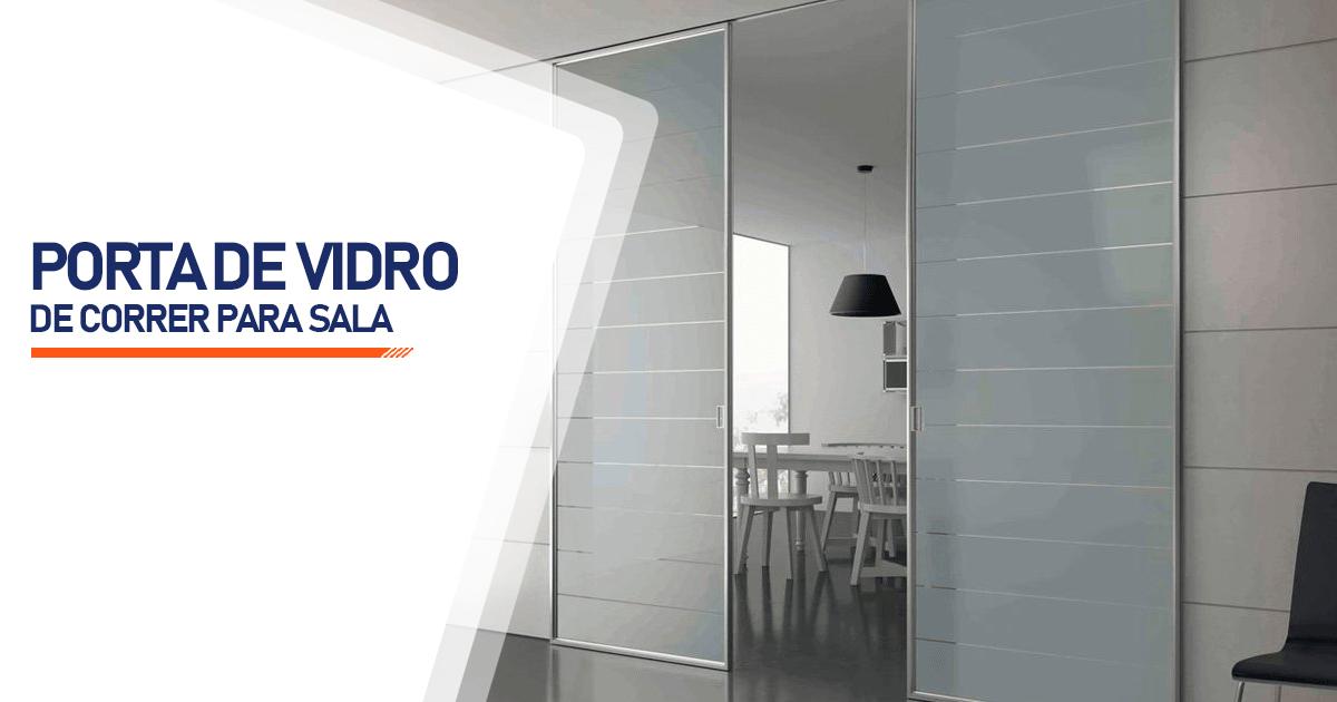 Porta De Vidro De Correr Para Sala Bertioga